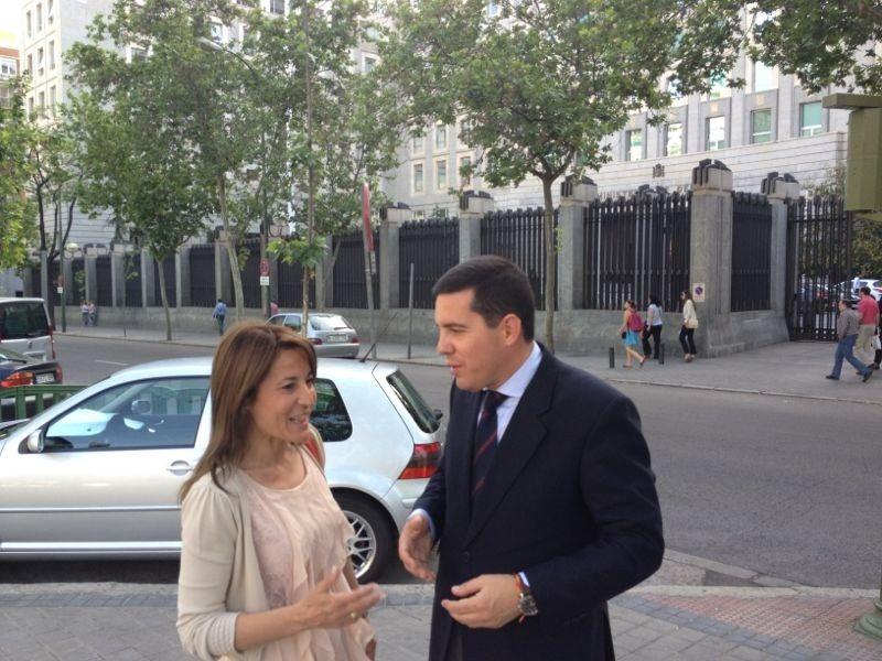 Nevado afirma tras reunirse con Defensa que «no hay ninguna decisión tomada sobre el Cefot de Cáceres
