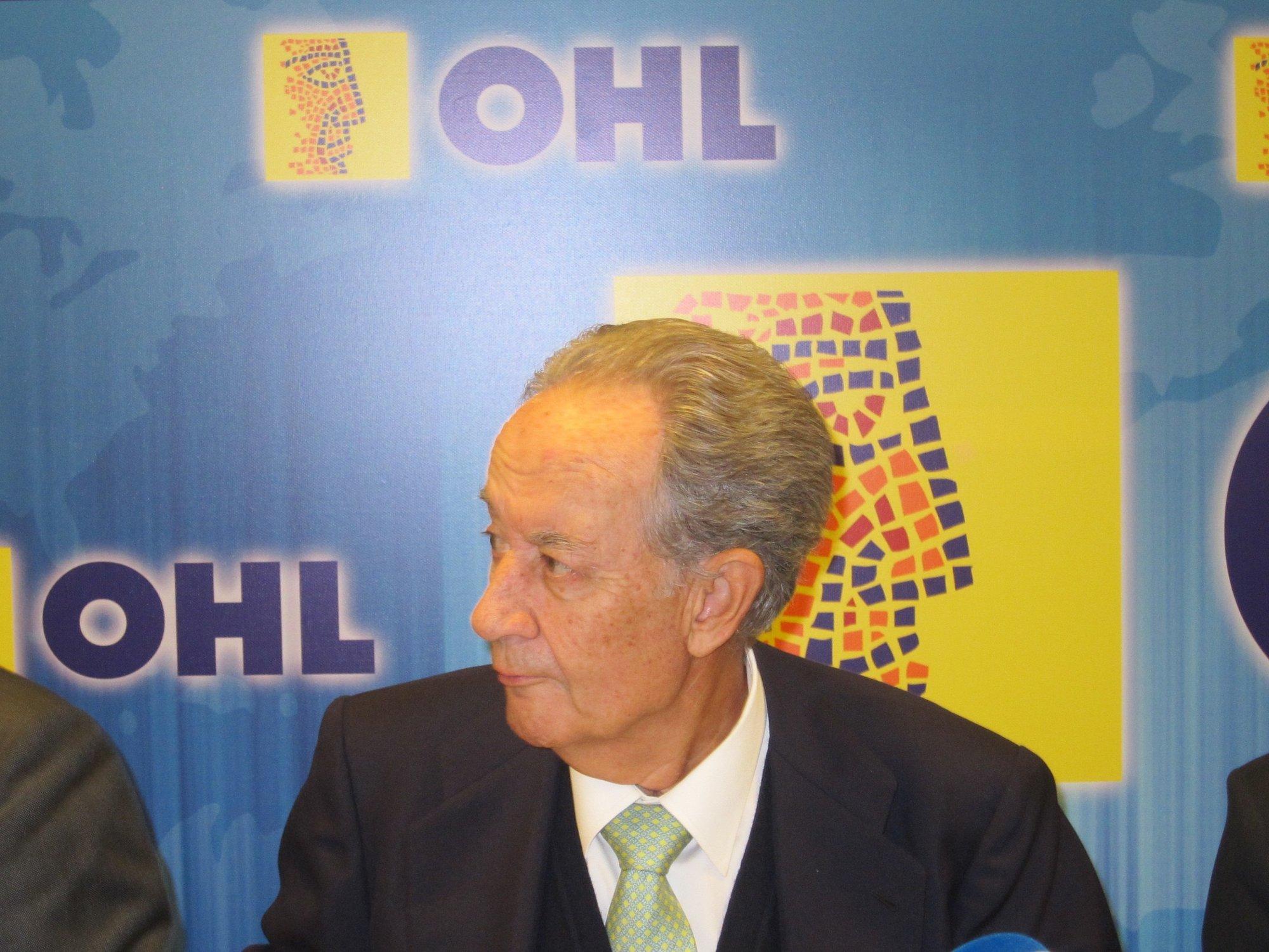 OHL repartirá un dividendo de 0,5597 euros el 1 de junio