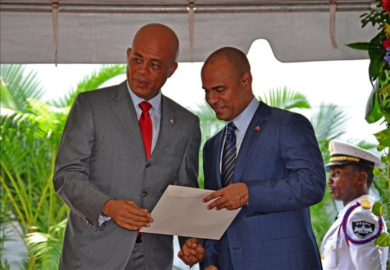 El nuevo Primer Ministro de Haití toma el testigo de la reconstrucción