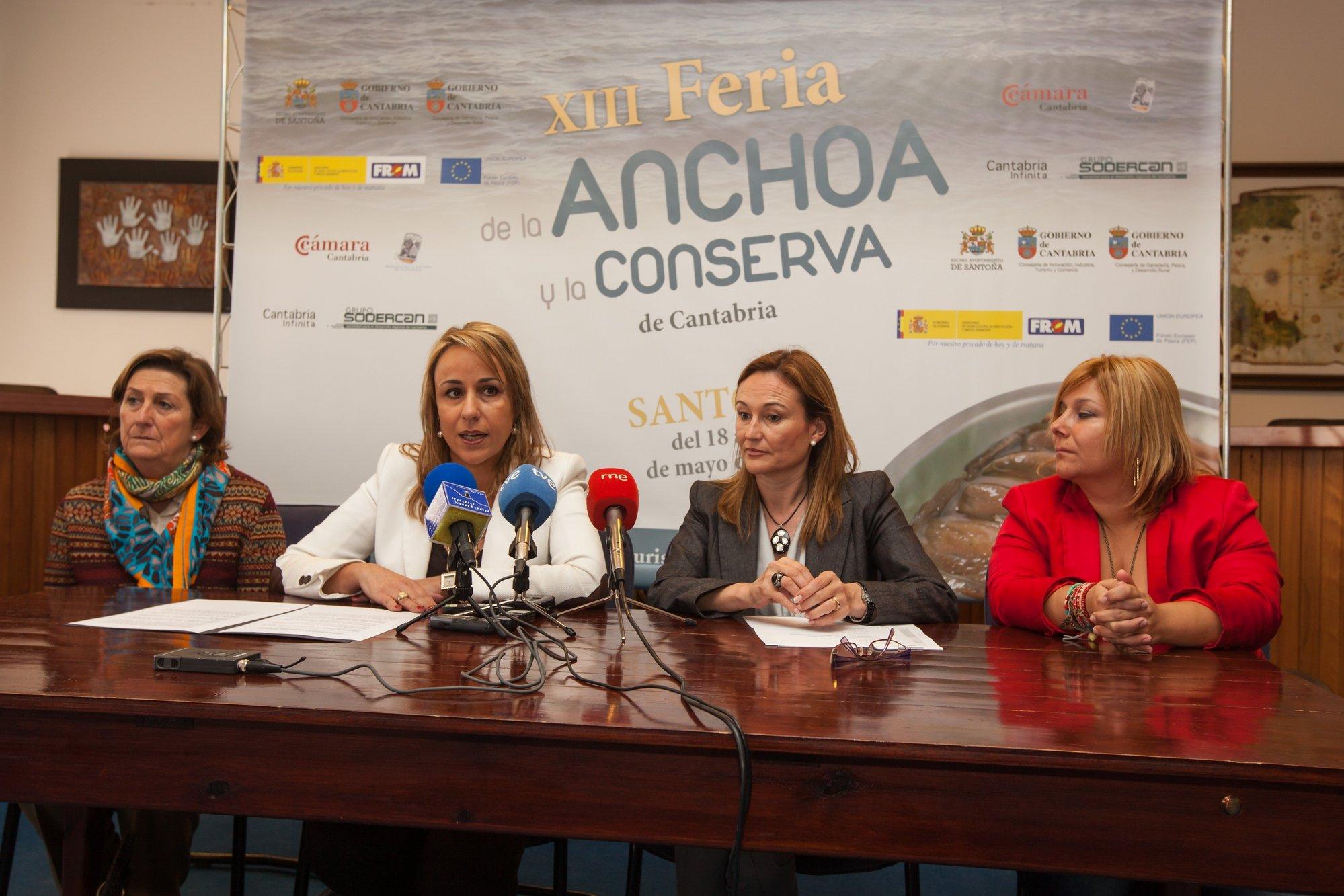 Santoña acoge este fin de semana la XIII Feria de la Anchoa, a la que asistirán 14 conserveras