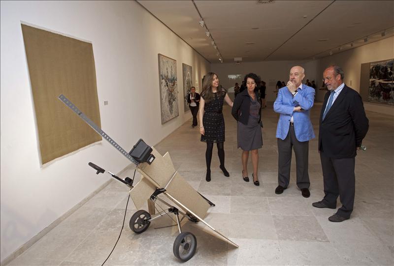El arte emergente de España y Portugal festeja diez años de Patio Herreriano