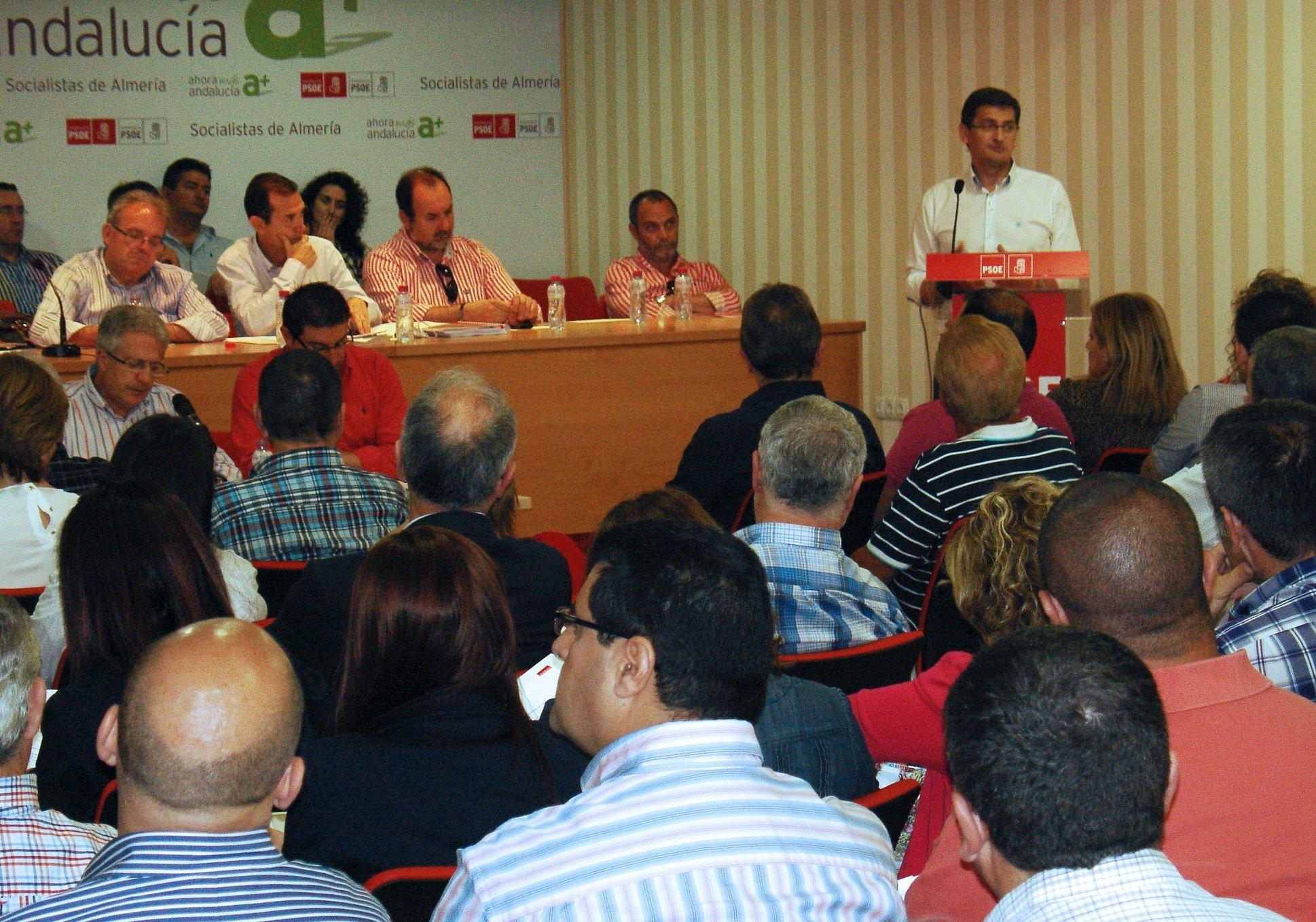 El congreso extraordinario del PSOE se celebra el 2 de junio en Almería y el ordinario el 14 de julio en Vícar