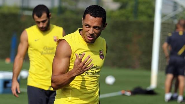 Adriano quiere la Copa tras el fiasco de la Champions y la Liga