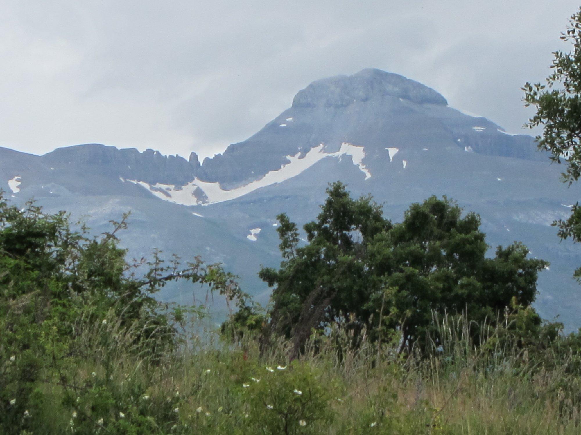 Alerta amarilla por lluvias y tormentas en el Pirineo