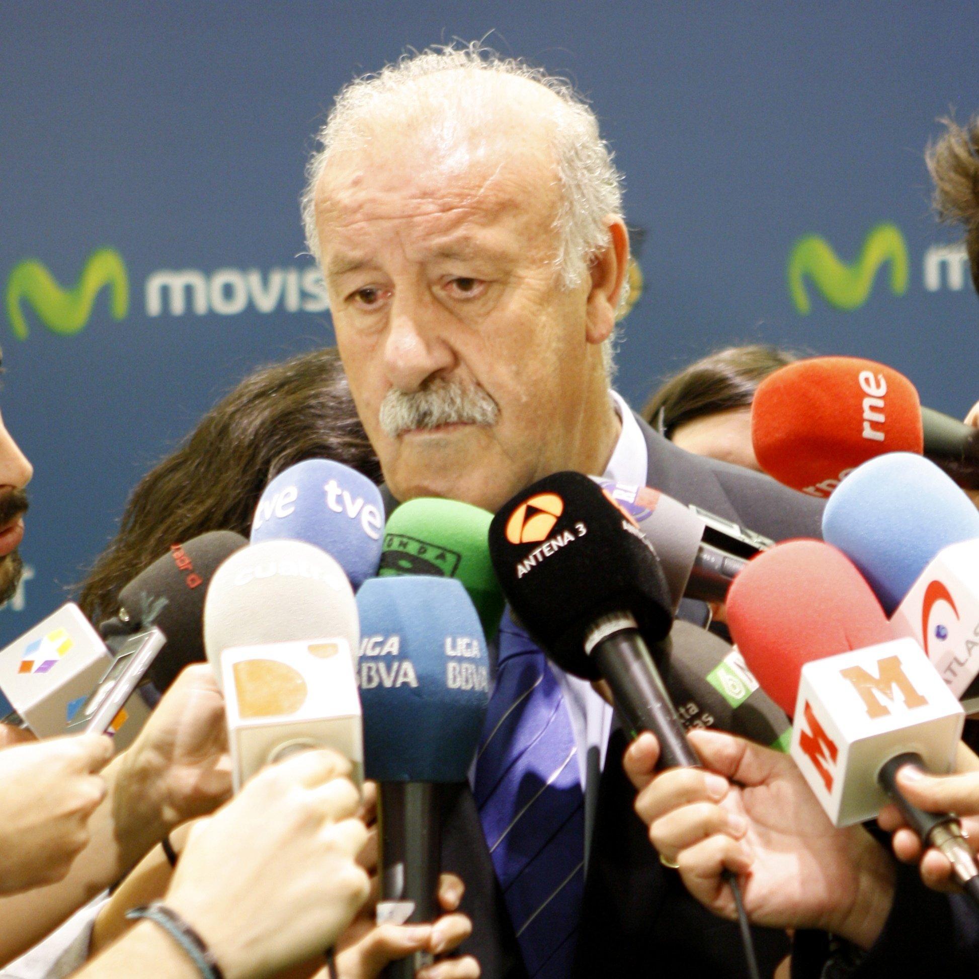 Del Bosque apadrina los »Días del deporte 2012» para impulsar el deporte base en Las Rozas, Pozuelo y Boadilla