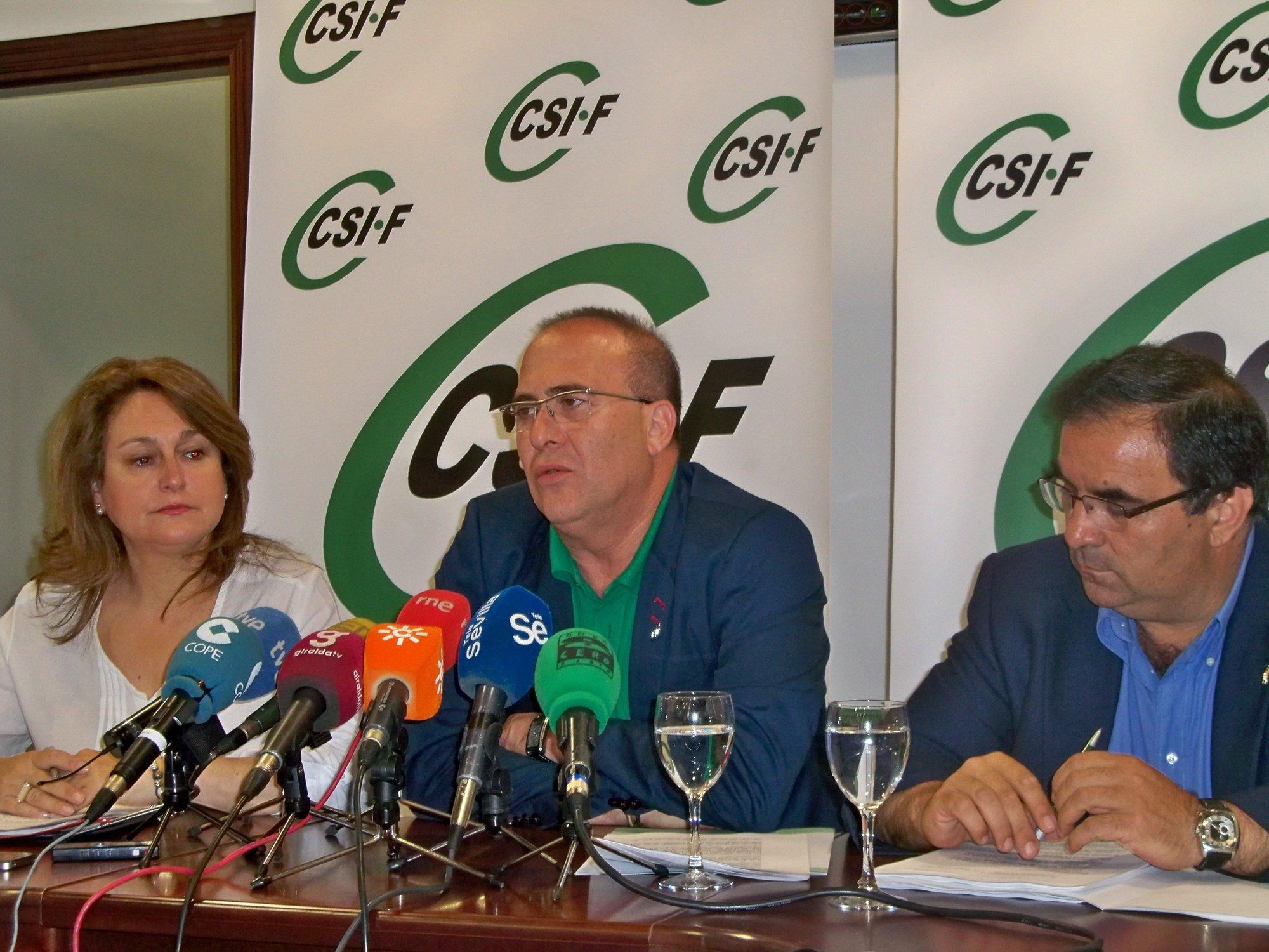CSIF-A prevé merma de asistencia social y pérdidas de empleo por los ajustes «desproporcionados y arbitrarios» en Junta