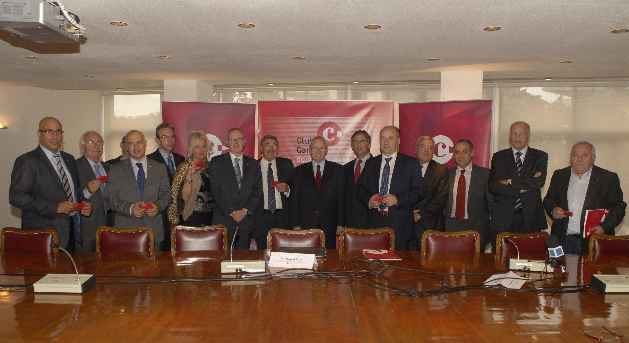 La Cámara de Lleida se suma al Club Cambra para abrir una línea de financiación a sus empresas