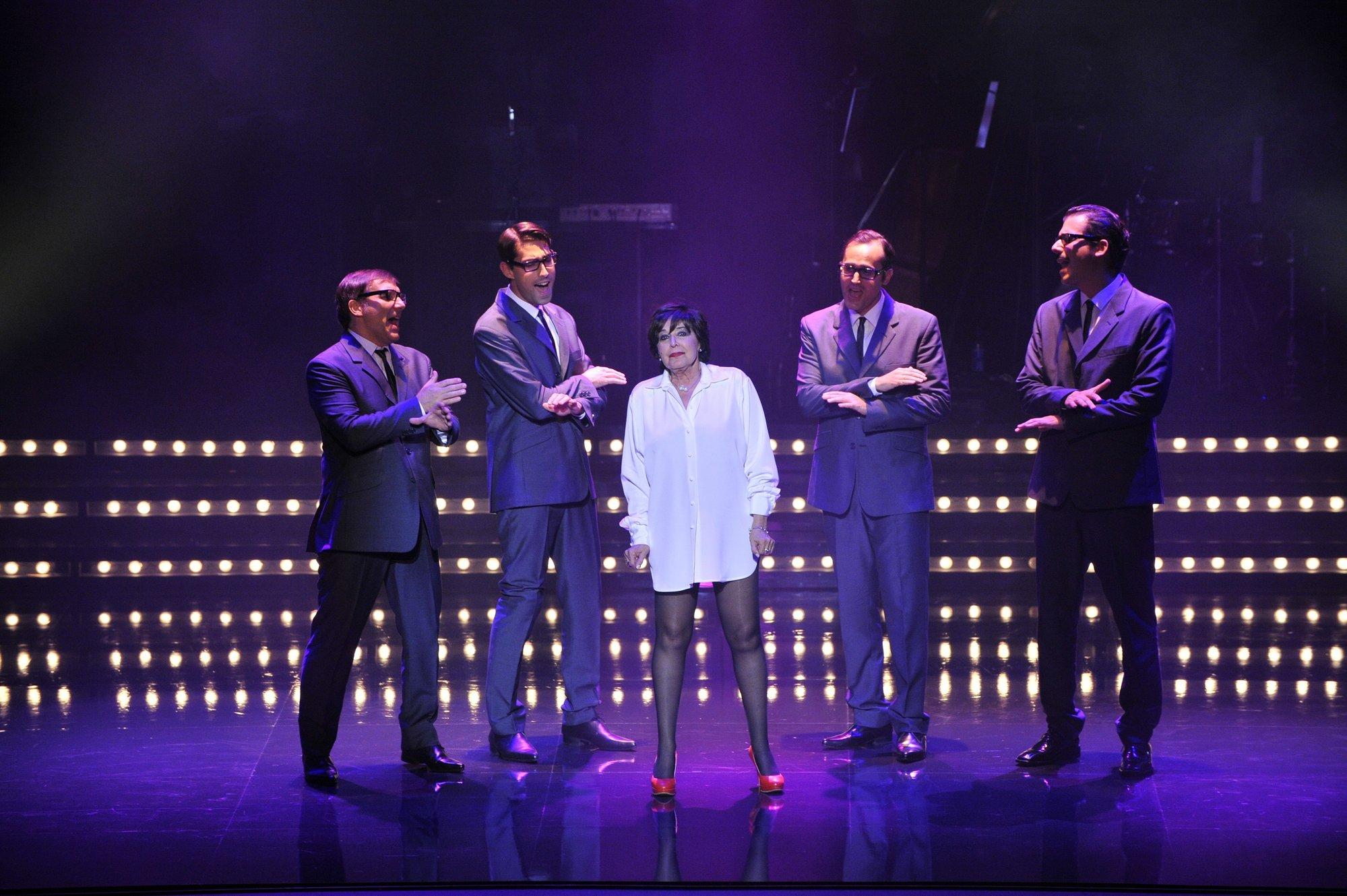 Concha Velasco llega al Gran Teatro este viernes con el espectáculo »Yo lo que quiero es bailar»