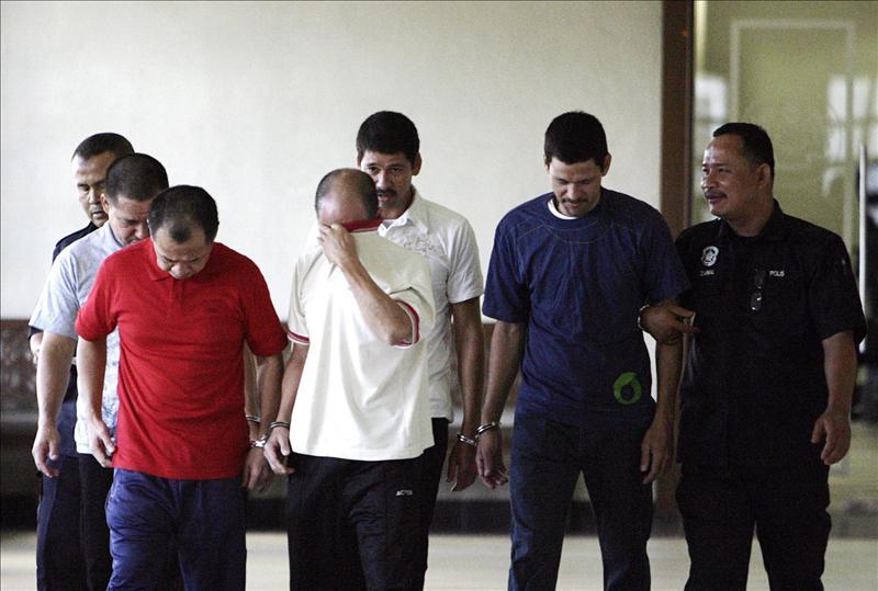 Malasia condena a la horca a tres hermanos mexicano acusados de narcotráfico