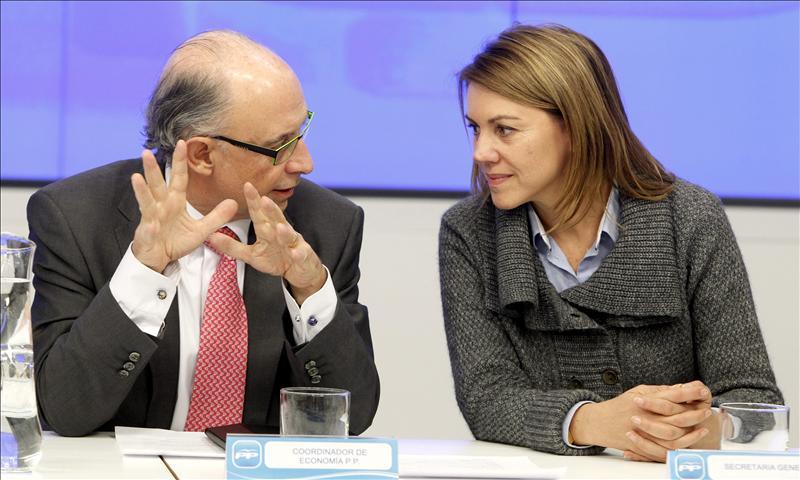 Cospedal y Montoro se reunirán con los consejeros del PP antes del CPFF