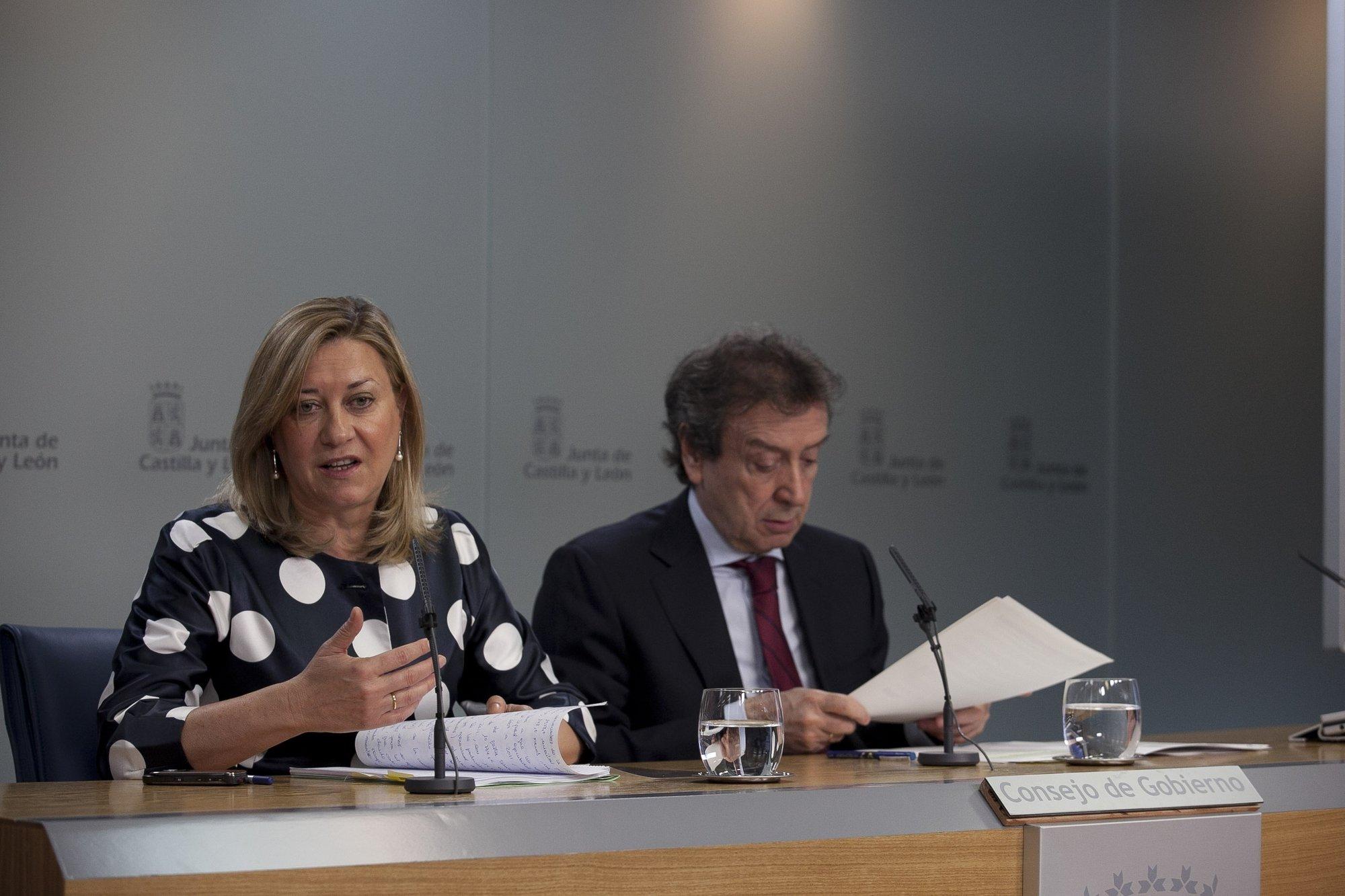 CyL prevé ajustes por 859 millones hasta 2014 sin más impuestos y con la congelación del empleo público