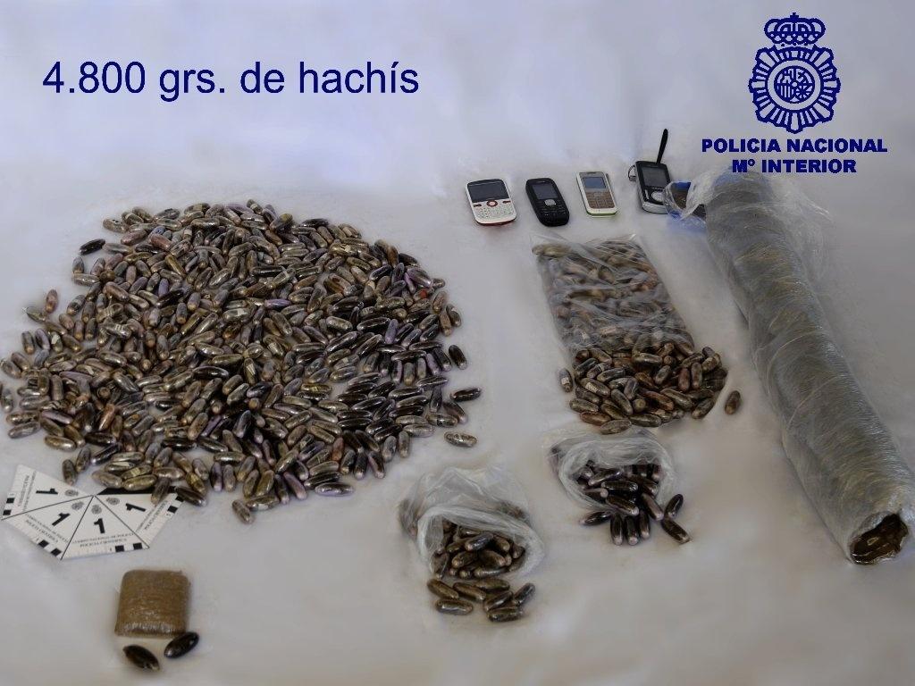 Desarticulado un grupo dedicado a la distribución de hachís en Burgos con la detención de tres personas