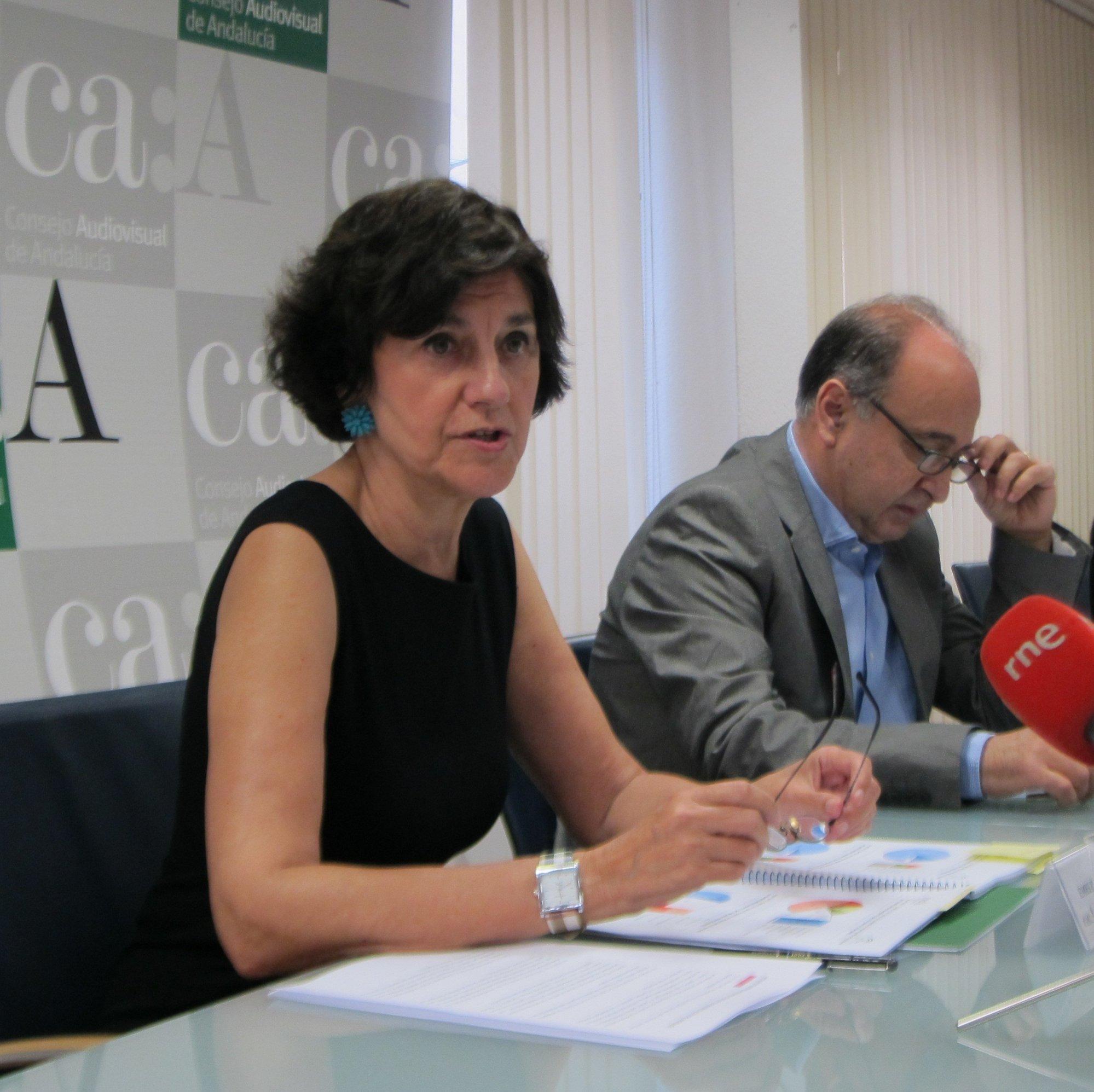Emelina Fernández (CAA) ve «negativo» y «un paso atrás» que el presidente de RTVE no sea elegido por mayoría cualificada