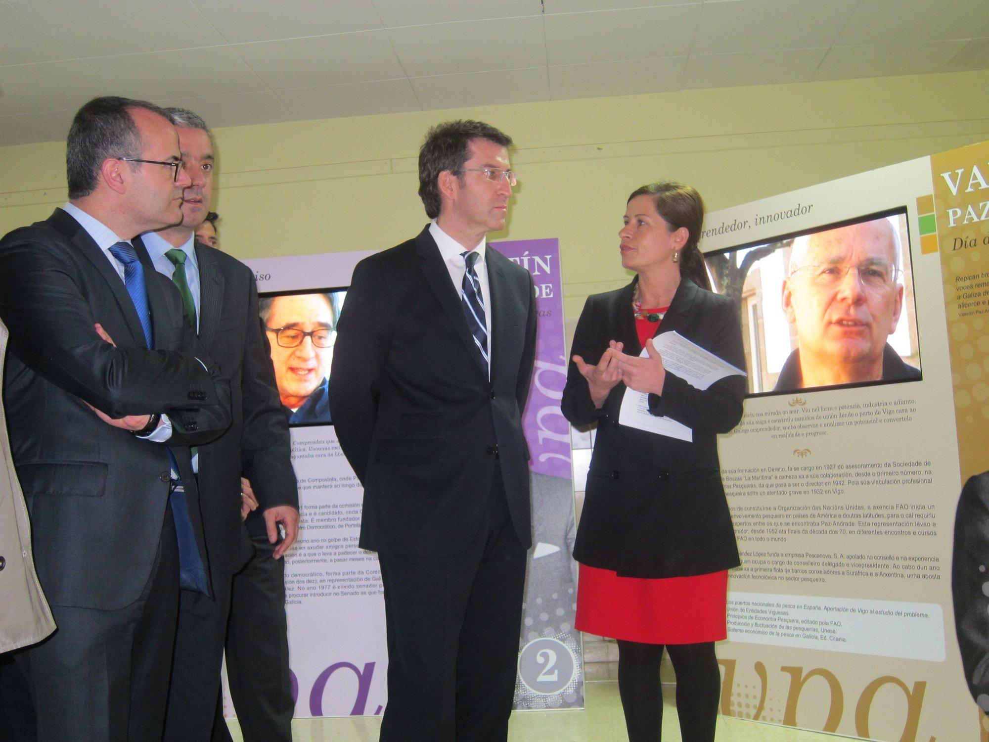 Feijóo erige a Paz Andrade en «gran innovador» y «pionero del galleguismo internacional»