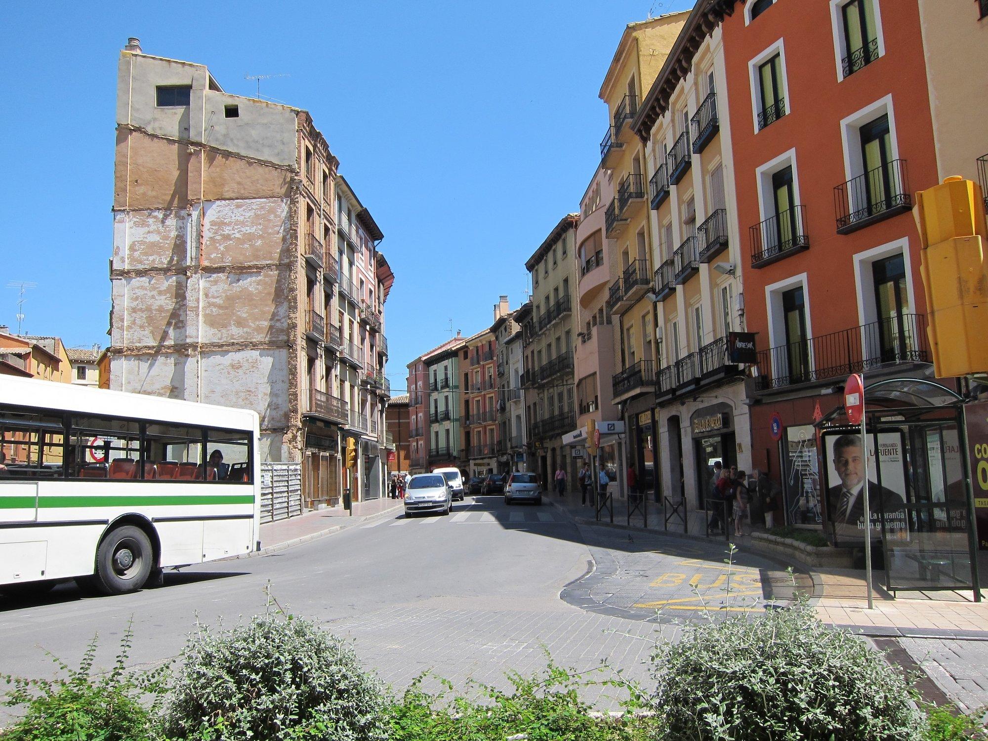 Huesca peatonalizará sus Cosos una vez al mes a partir del 26 de mayo