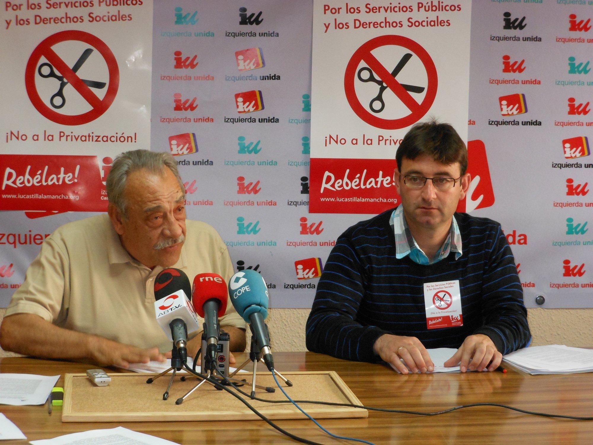 IU C-LM califica la modificación de la Ley Electoral como «interesada y partidista»