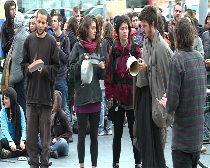 Identificadas 81 personas en las caceroladas contra la banca en Barcelona