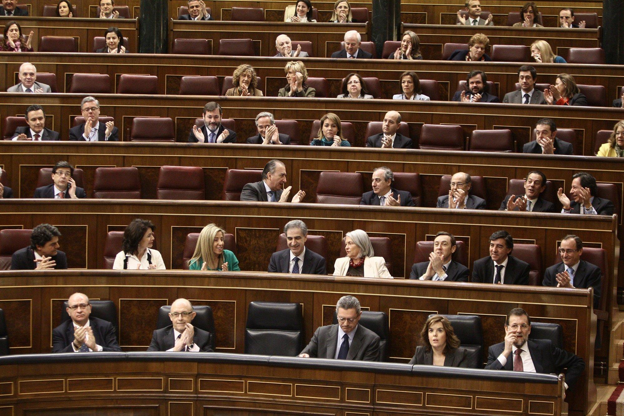 El PP se queda solo con CiU para aprobar el decreto que le permitirá nombrar al presidente de RTVE