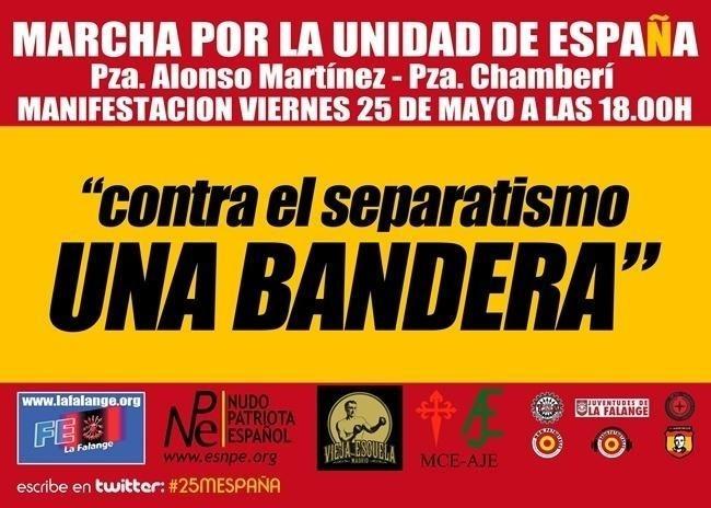 Promotores de la marcha ultra en Madrid mantienen la convocatoria el día de la final a la espera del TSJM