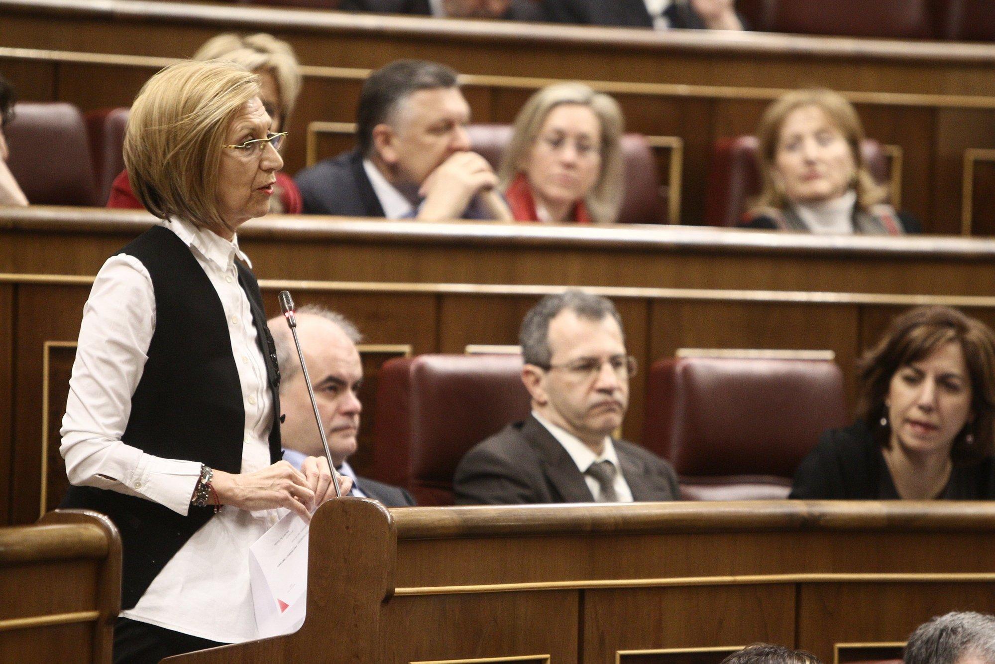 Rosa Díez exige responsabilidades por el «engaño masivo» del Gobierno