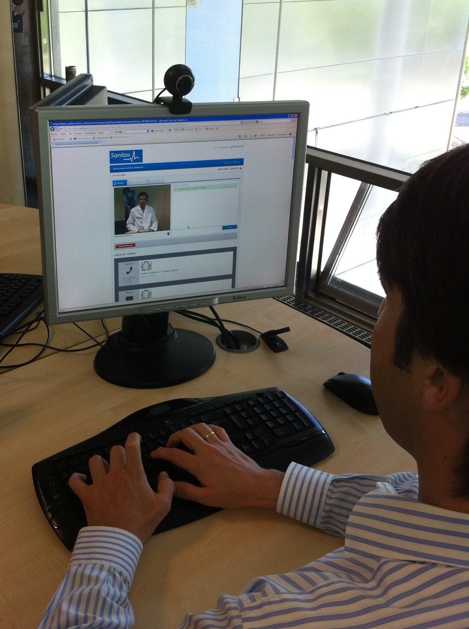 Sanitas Hospitales pone en marcha un nuevo servicio de consultas »on line»