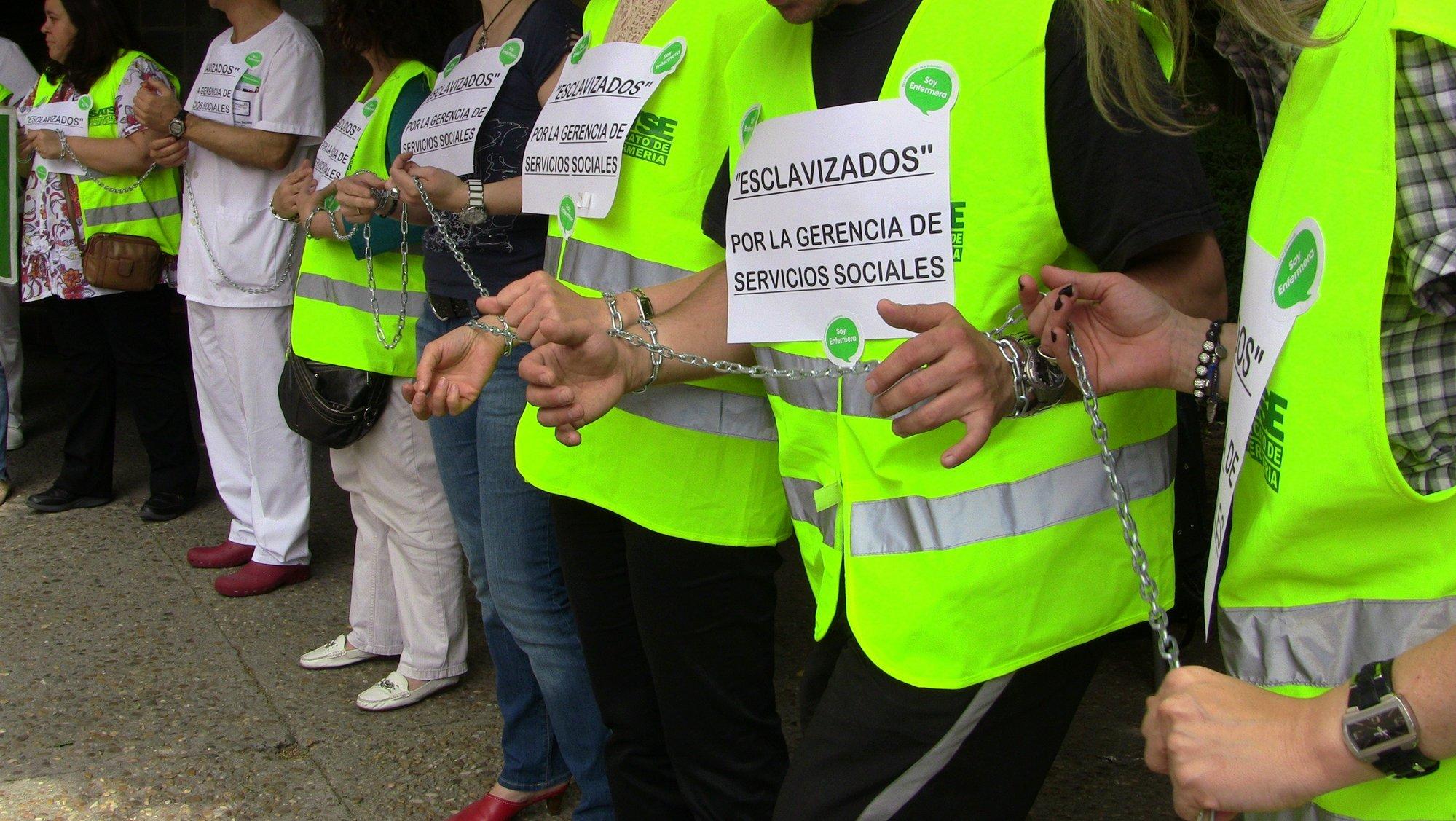 Satse cifra el seguimiento de la huelga de enfermería «cerca del cien por cien» en Castilla y León