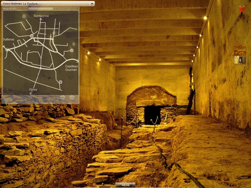 Una aplicación digital permitirá «visitas virtuales» a los dólmenes de La Pastora y Matarrubilla
