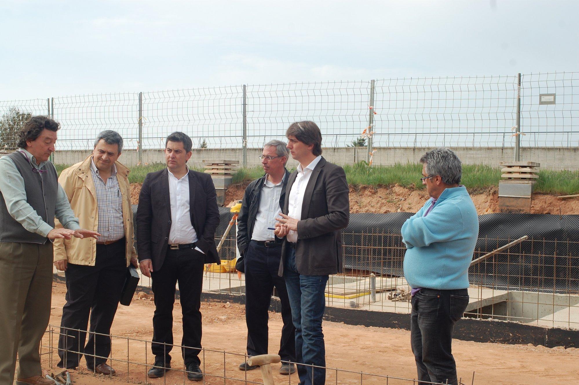 Las obras del cementerio de Soria permitirán una incremento de más de 300 unidades de enterramiento