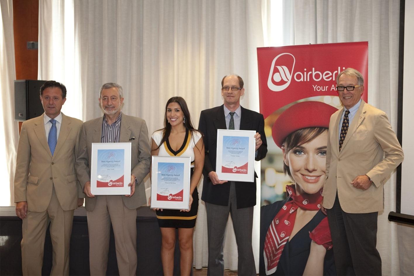 La compañía aérea Airberlin vuela a partir de este mes a 40 destinos