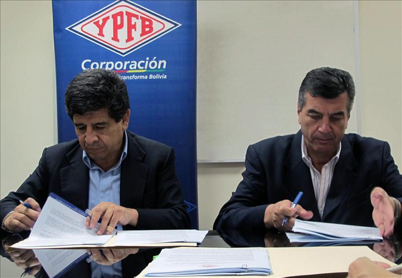 Repsol firma un convenio de exploración de hidrocarburos en Bolivia