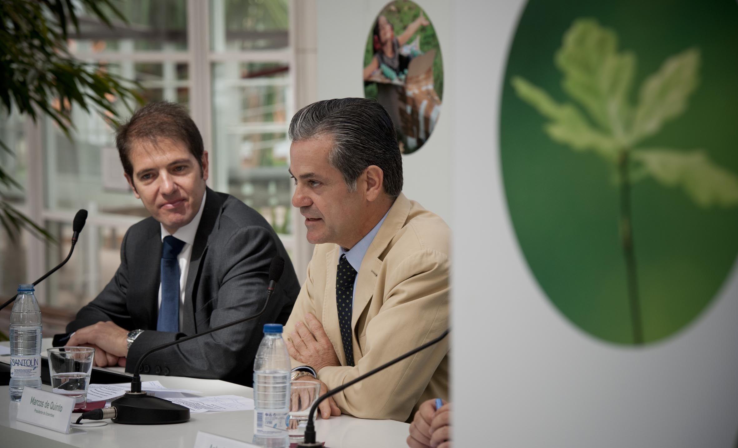 Los españoles reciclaron 7 de cada 10 envases en 2011, un 3,6 por ciento más que en 2010, según Ecoembes