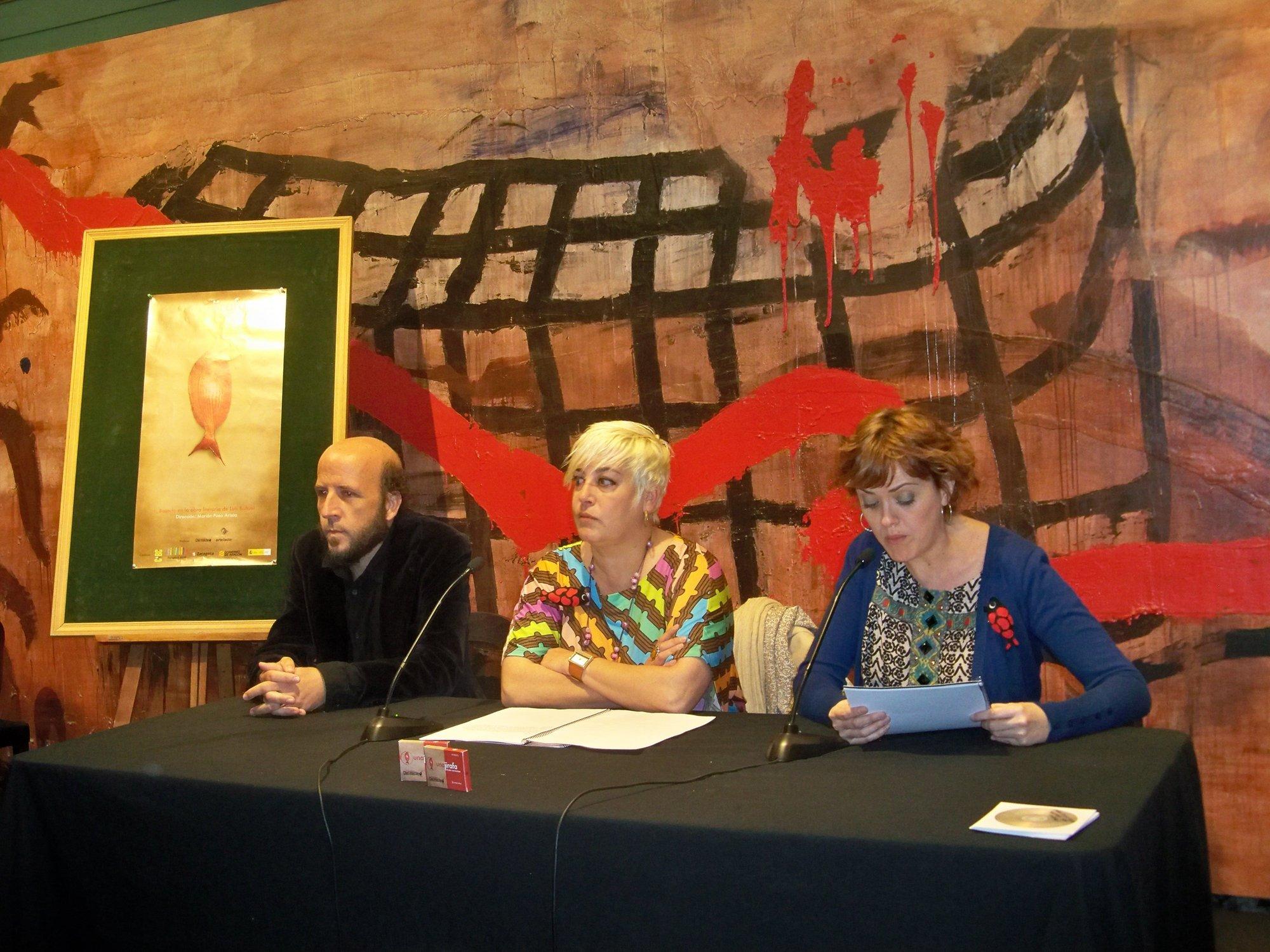 Un espectáculo muestra el surrealismo de la obra poética de Buñuel, en el Principal