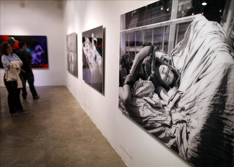 La mirada de Ouka Leele contemplada en Caracas