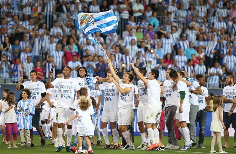 La Rosaleda deberá adaptarse a la normativa UEFA para poder acoger los encuentros europeos