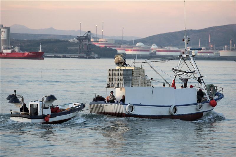Las patrulleras de Gibraltar tenían órdenes de tomar algún pesquero como rehén
