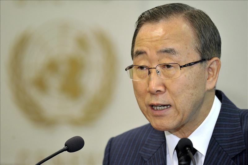 Ban denuncia una situación de «extrema gravedad» en Siria pese a una menor violencia