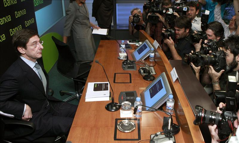 Goirigolzarri, seguro de que el Estado logrará la financiación para Bankia