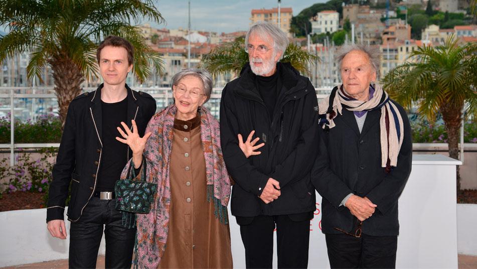 Michael Haneke se postula como el gran favorito para llevarse la Palma de Oro