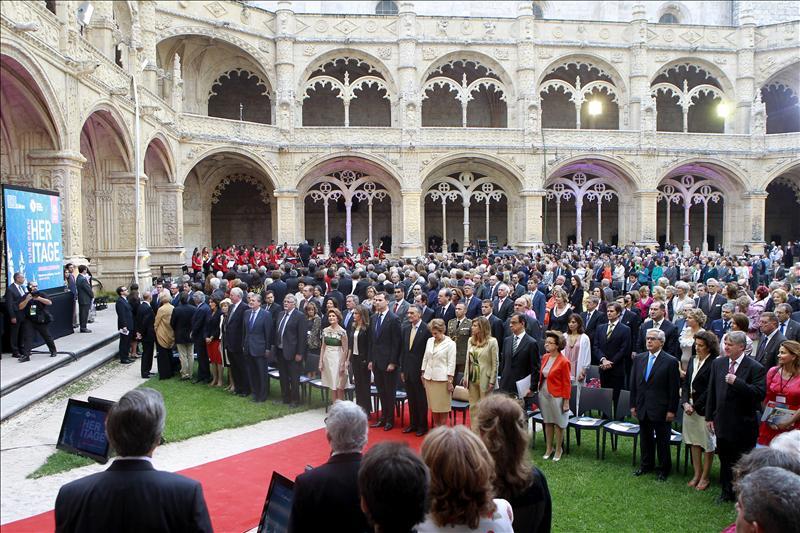 El príncipe Felipe exalta el valor del patrimonio cultural para la democracia