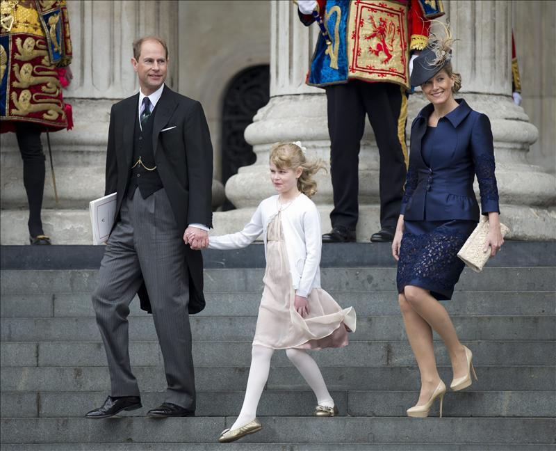 El príncipe Eduardo y su esposa inician hoy una visita a Gibraltar    Teinteresa