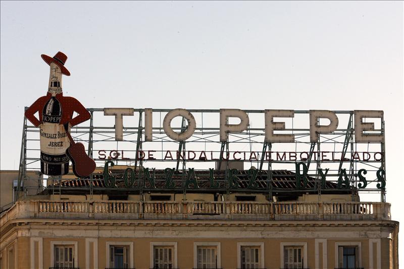 El anuncio de Tío Pepe podría volver a lucir en Sol