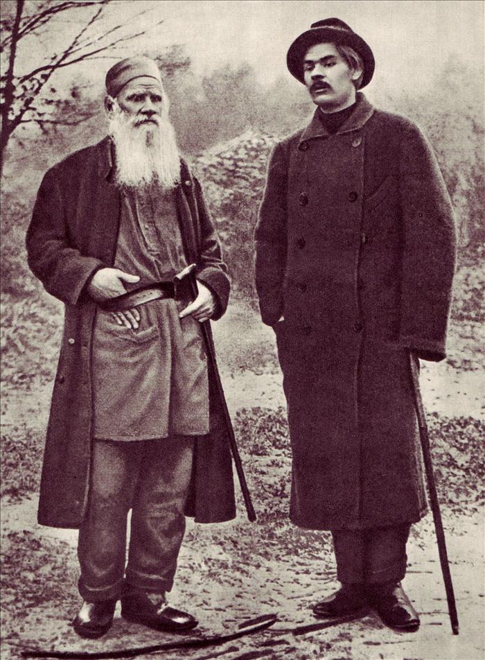 Tolstói desnudó su alma a los periodistas al final de sus días