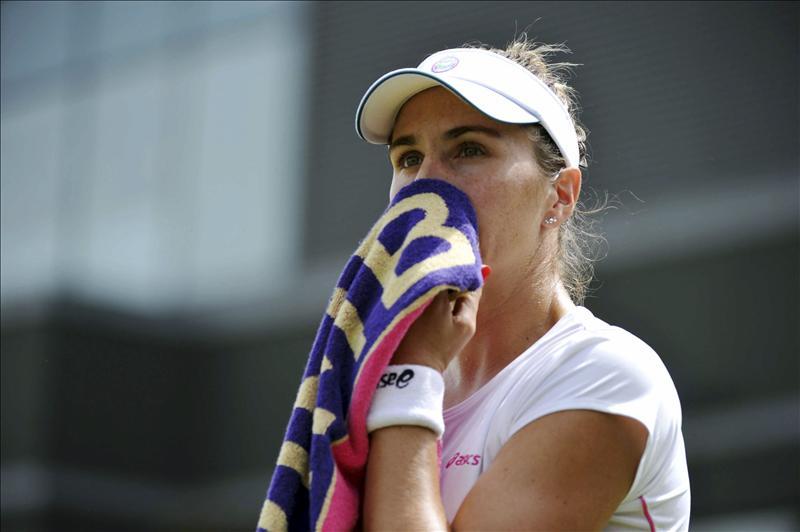 María José Martínez y Nuria Llagostera caen en segunda ronda