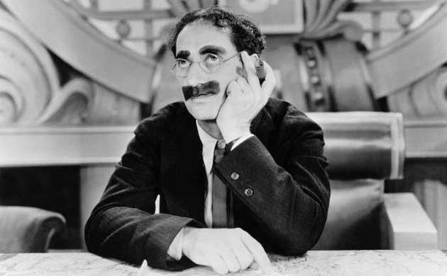 Las 100 mejores frases del genio del humor Groucho Marx