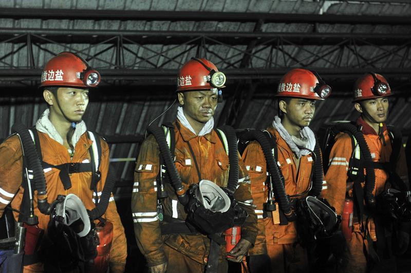 Al menos 13 mineros muertos por un accidente en un yacimiento de carbón de China