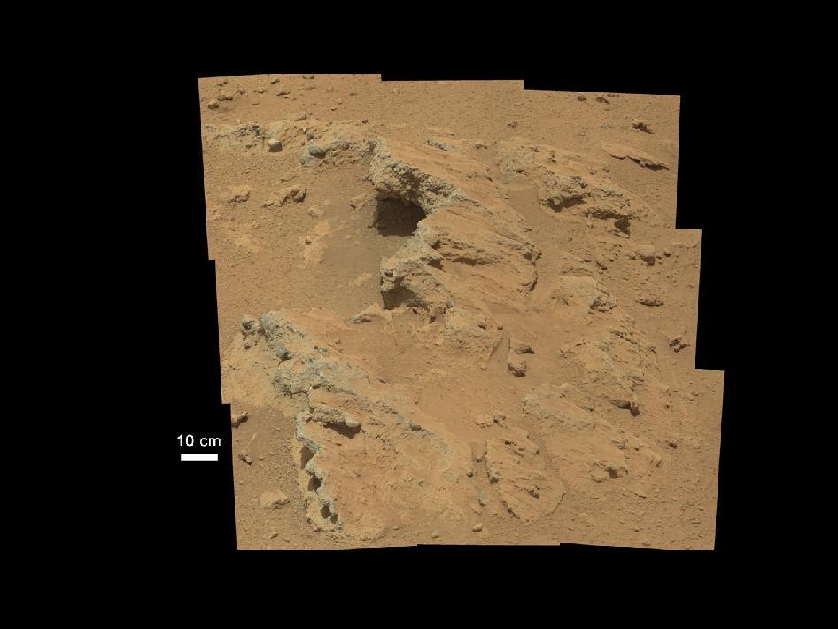 El Curiosity descubre restos de un antiguo río en el planeta rojo