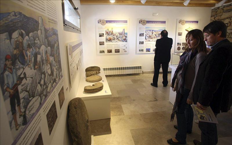 Trévago (Soria) revela los secretos del oficio de cantero en un museo pionero