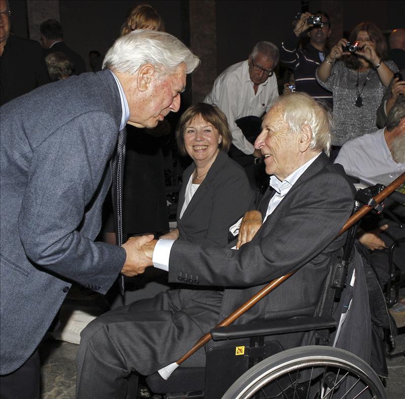 El nobel sueco Tomas Tranströmer recibe un homenaje en Madrid