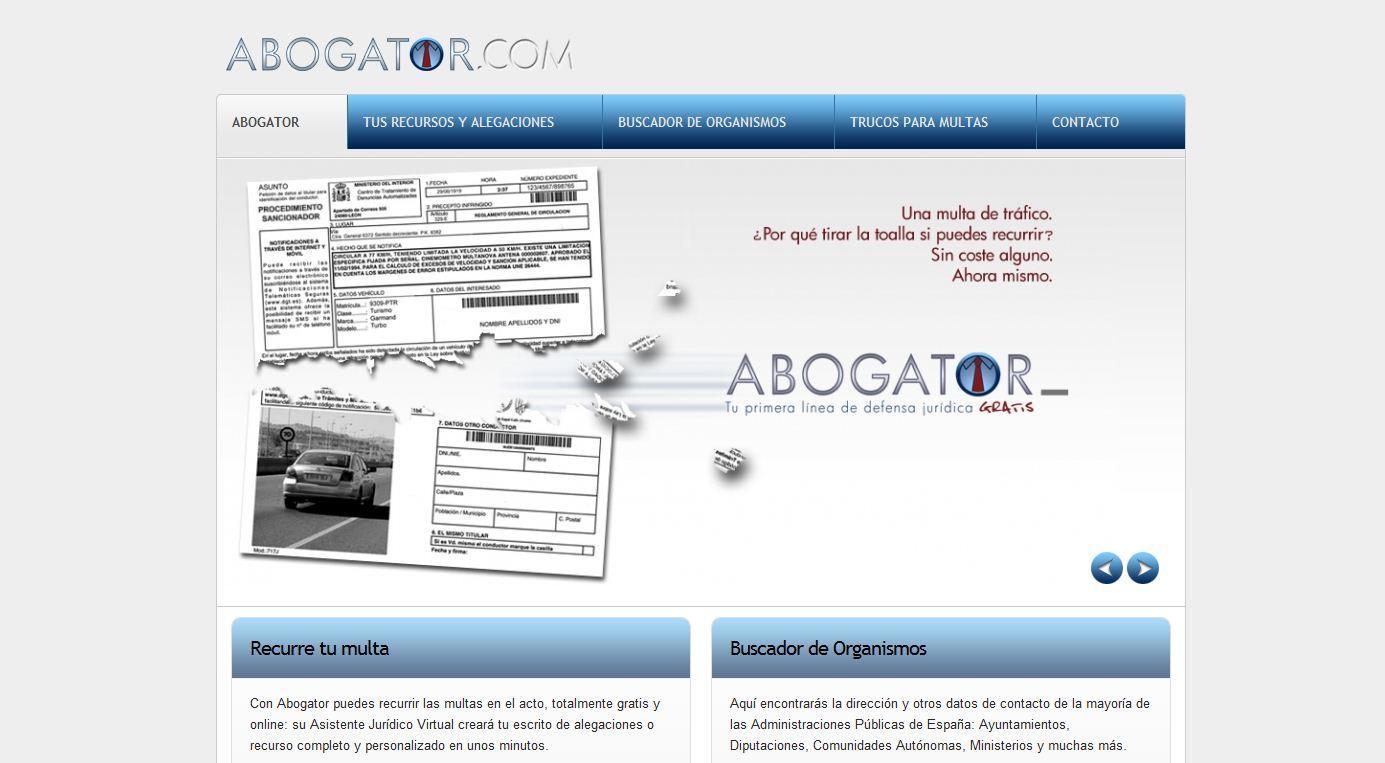 Abogator.com, la mejor manera de recurrir multas por internet de manera gratuita