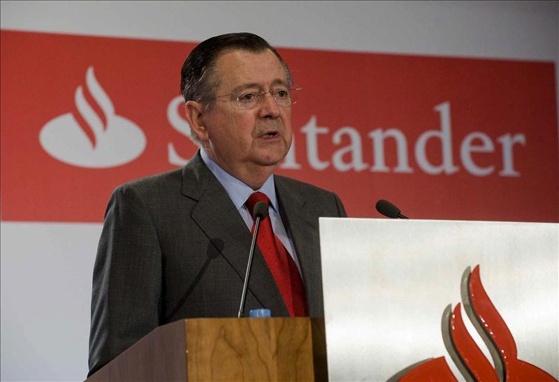 El Banco Santander ganó 1.804 millones hasta septiembre, un 66 por ciento menos